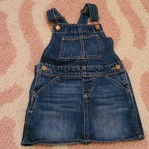 Toddler dress overalls